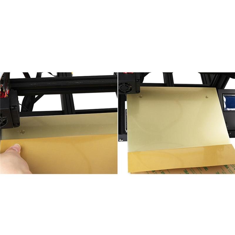 Haute qualité 235*235mm 3D imprimante lit en acier plaque PEI Ender-3/S imprimante accessoires