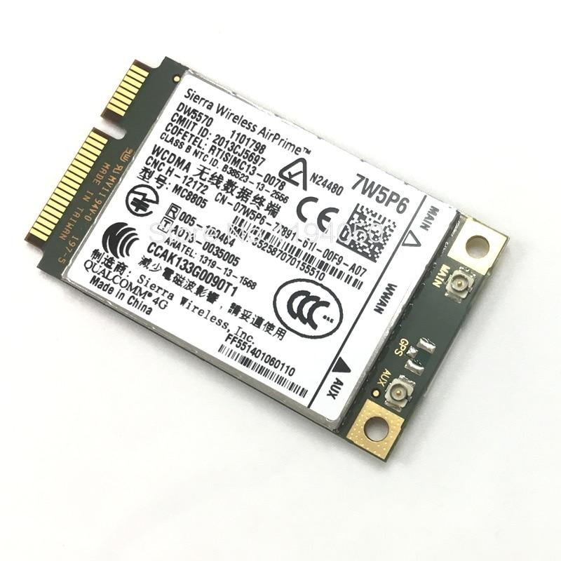 GroßZüGig Sierra Mc8805 Entsperren Dw5570 7w5p6 Für Dell Latitude E5440 E6440 E6540 E7240 E7440 M4800 M6800 Qualcomm 4g Modul Karte Mc8805