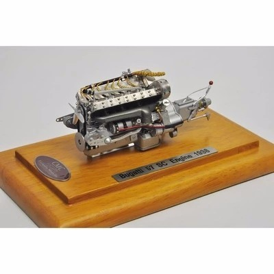 118 Scale Model Cmc Bugatti 57 Sc Engine Model Alloy Toys Hobbies
