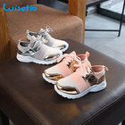 Wisefin Girl Shoes Lace For Kids Summer Sport Shoes For Girl Kids PU Shoes Mesh Children Sneakers Toddler Girl Sneakers 2 Style