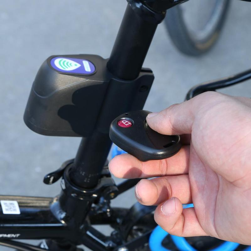 Disciplined Bike Bicycle Cycling Security Wireless Remote Control Vibration Alarm Fixing Prices According To Quality Of Products