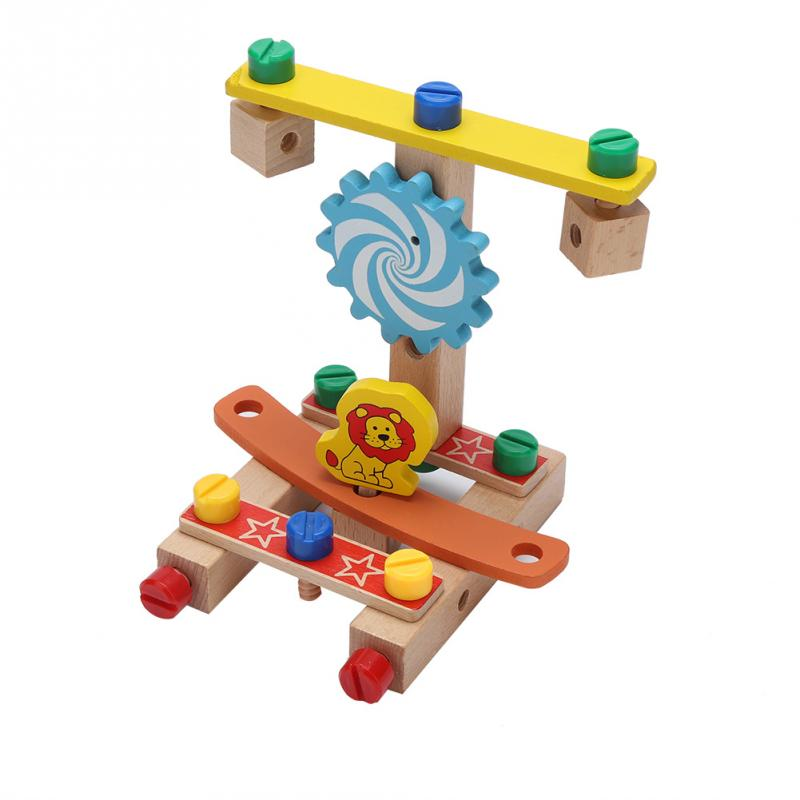 Flying Chair Toy Piece Building 3D Puzzle DIY Intelligence Developmental Toy