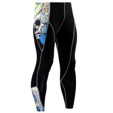 2019 New design high quality pants men Compression Pants 3D camouflage Quick Dry Skinny Leggings Tights Fitness joggers