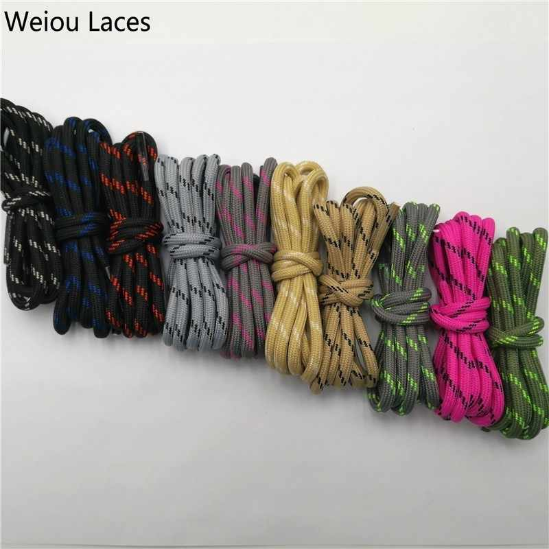 Weiou Açık yuvarlak halat yürüyüş ayakkabıları Dantel Aşınmaya Dayanıklı Ayakkabı Boot Ayakabı Dizeleri Erkekler Ve Kadınlar Için Spor Shoestrings