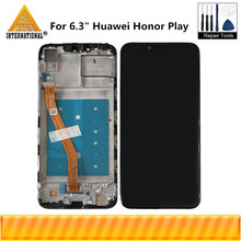 """Ban đầu Axisinternational 6.3 """"Cho Huawei Honor Chơi Màn Hình LCD Hiển Thị Màn Hình + Cảm Ứng Bộ Số Hóa Cho COR L29 COR AL00 Có Khung"""