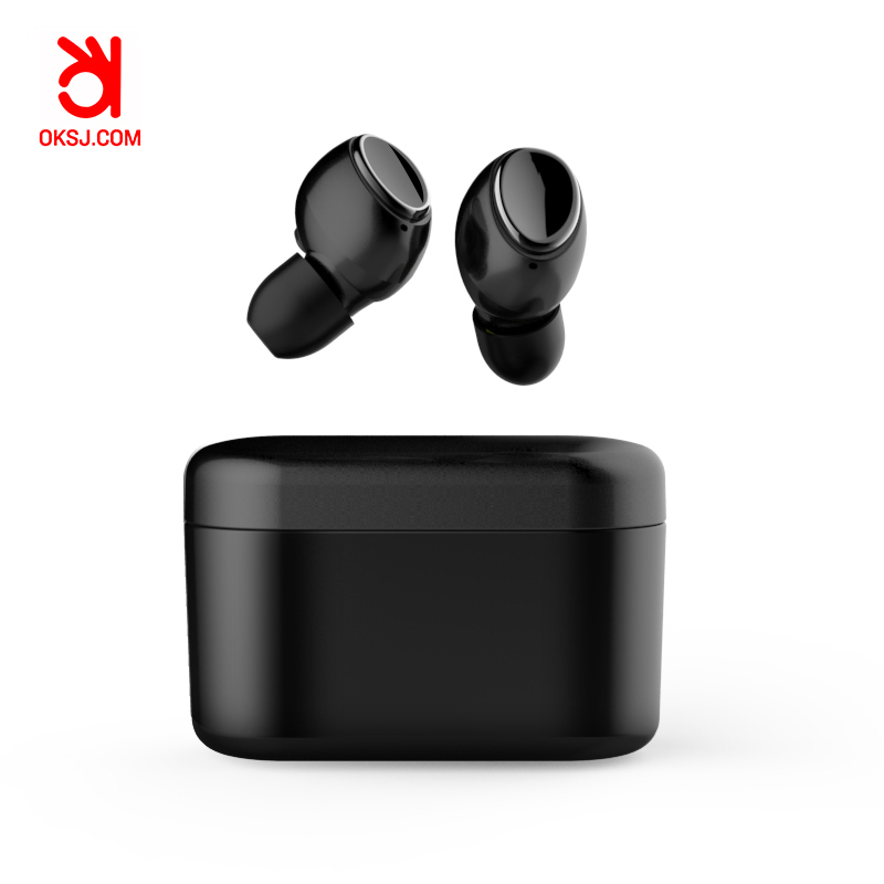 OKSJ 2019 358 new products for Business bluetooth 5.0 earphone wireless earbuds sport headset compatibility android and IOS-in Bluetooth Earphones & Headphones from Consumer Electronics    1