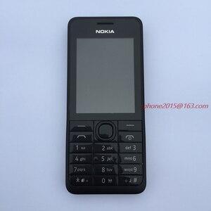 Image 3 - מקורי נוקיה 301 טלפון נייד WCDMA 3MP 2.4 אחת כפולה ה sim כרטיס משופץ הסלולר סמארטפון