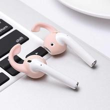 2 pairs Durable Comfort Silicone Eartips Cover Accessories for Apple AirPods or EarPods Wireless Headset protective i10 i9 TWS