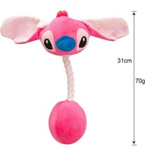 Cartoon Pet Product Plush Toys Dog Toys Cats Cute Biting Rope Sound Toys For Small Large Dog Juguete Perro Drop Shipping 20A1