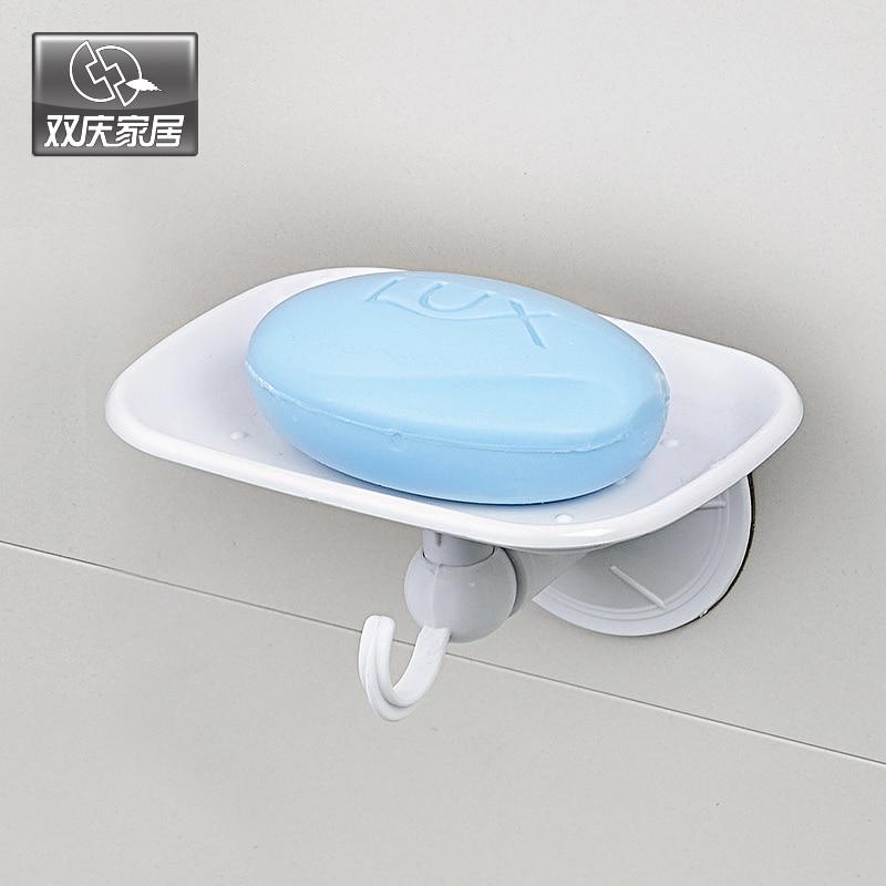 Cupa de aspirație Suport pentru săpun din plastic pentru săpun - Organizarea și depozitarea în casă