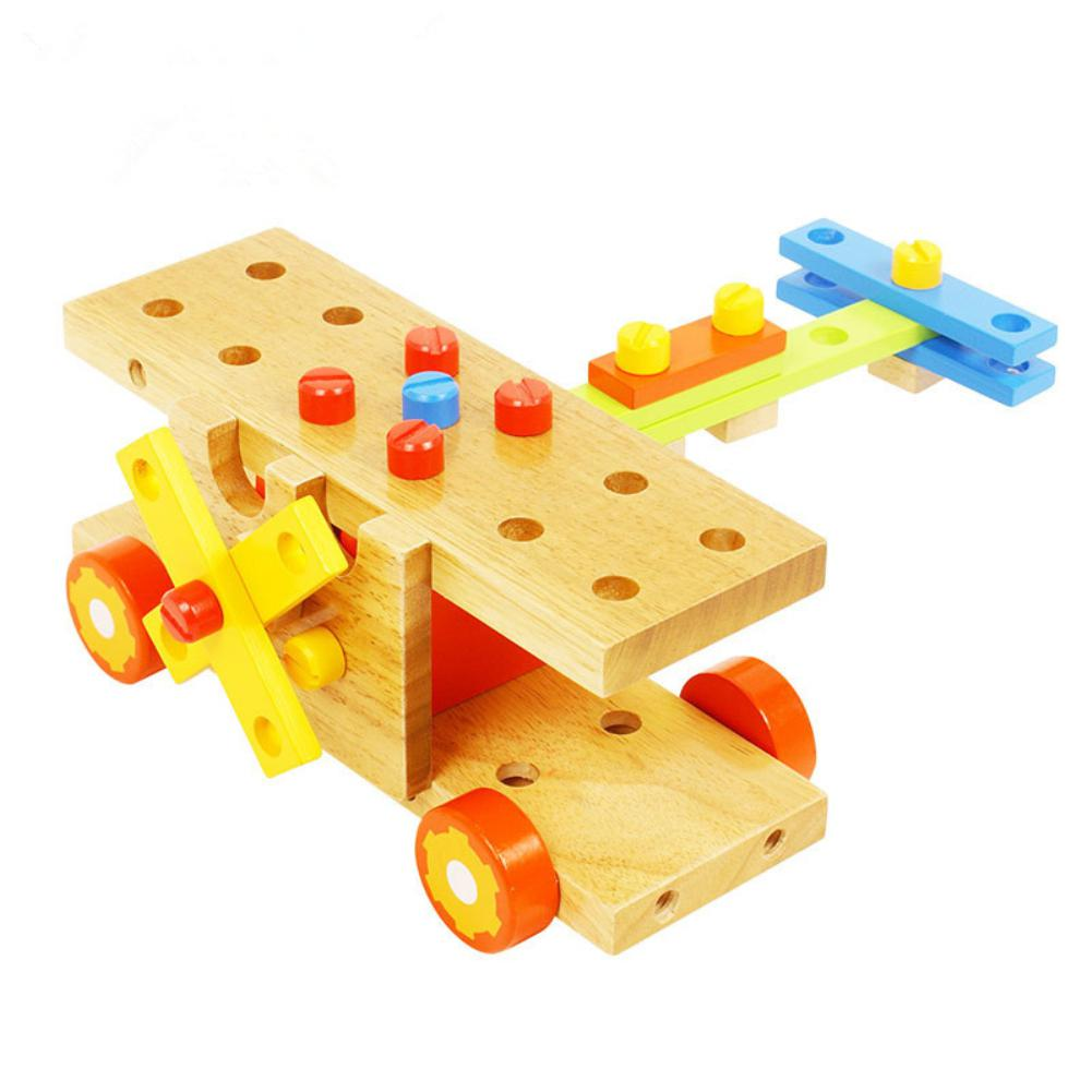 None Kids Educational Wooden Car Combination Hands-On Nut Disassembly Toy for Childrens giftNone Kids Educational Wooden Car Combination Hands-On Nut Disassembly Toy for Childrens gift
