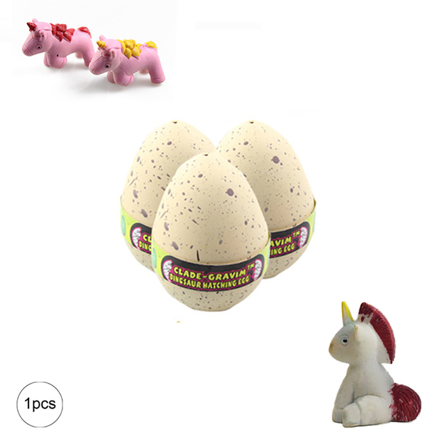 Easter eggs (1pc) with mini unicorn- Easter decor items