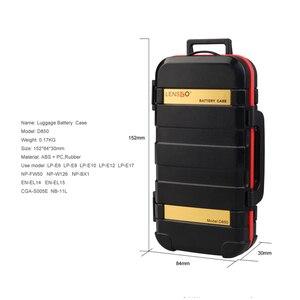 Image 5 - LENSGO D850 مقاوم للماء غلاف بطاقة ذاكرة حافظة بطاريات صندوق لمدة 2 بطاريات الكاميرا 4 بطاقات SD 8 TF بطاقات 2 CF/XQD بطاقات