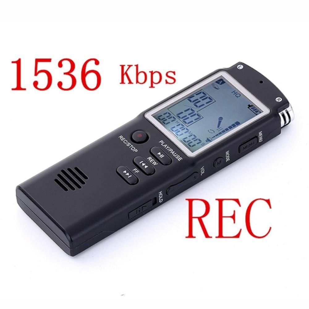 Professional Hd 1536kbps Special T60 Recorder Monochrome Display Usb 2.0 8G