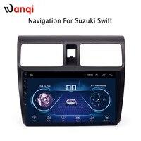 8,1 дюймов Android 10,1 полный сенсорный экран автомобиля мультимедийная система для Suzuki Swift 2010 2004 автомобильный gps Радио Навигация