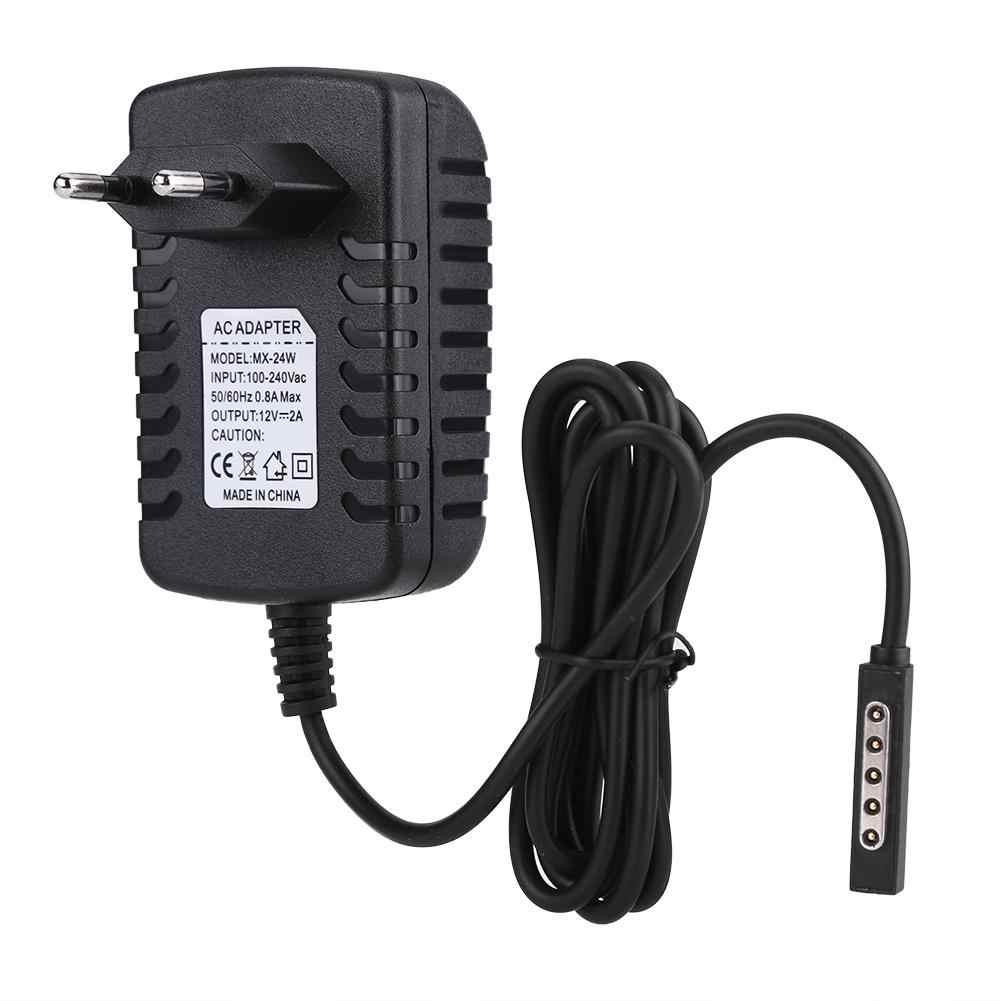 Hot Bán 12 V 2A Power Adapter Sạc đối với Microsoft SURFACE RT/RT2 với VƯƠNG QUỐC ANH/EU/ AU Cắm DC Adapter
