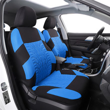 Universal  Car Seat Covers Classic Washable Embroidery Fit Most Brand Vehicle Interior Accessories 5