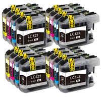 LC121 LC 123 LC123 cartuccia Compatibile Per Il Fratello DCP-J552DW/DCP-J752DW/MFC-J470DW/MFC-J650DW Della Stampante A Getto D'inchiostro