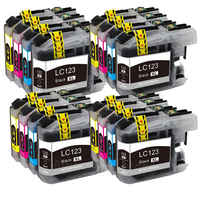 LC121 LC 123 LC123 cartridge Compatible For Brother DCP-J552DW/DCP-J752DW/MFC-J470DW/MFC-J650DW Inkjet Printer