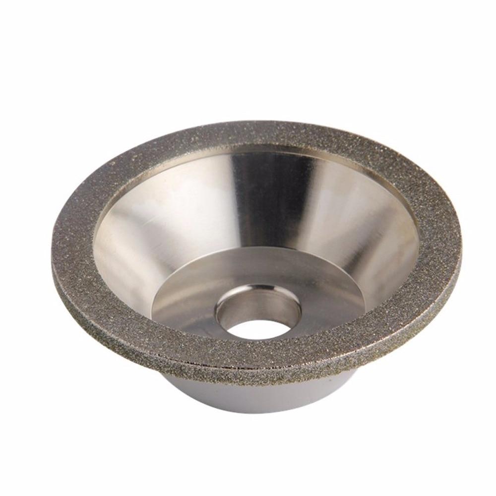 Diamant meule meule coupe meulage cercles pour tungstène acier fraise outil affûteuse meuleuse accessoires extérieur Dia 100mm