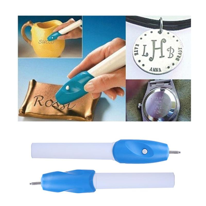 1pc 2 In1 Mini Engraving Pen Electric Carving Pens DIY Scrapbooking Jewellery Glass Wood Engraver Carving Pen Machine Grave Tool