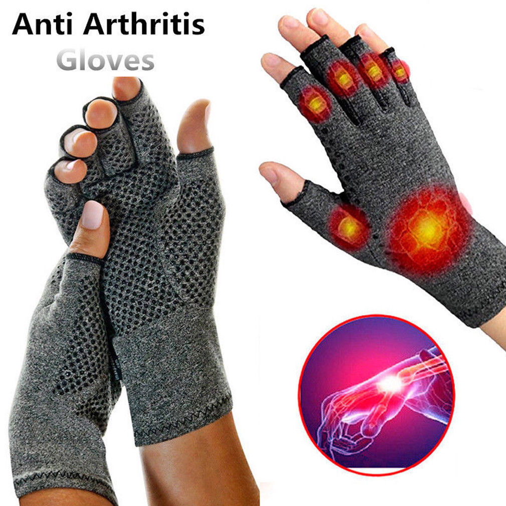 Magnetic Anti Arthritis Health Compression Therapy Gloves Rheumatoid Hand Pain Wrist Support Sports Safety Glove