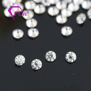 Image 3 - D cor 10 pçs * 0.1ct 3 mm/pacote preço de atacado vvs corte brilhante moissanite para anel pulseira brinco diamante