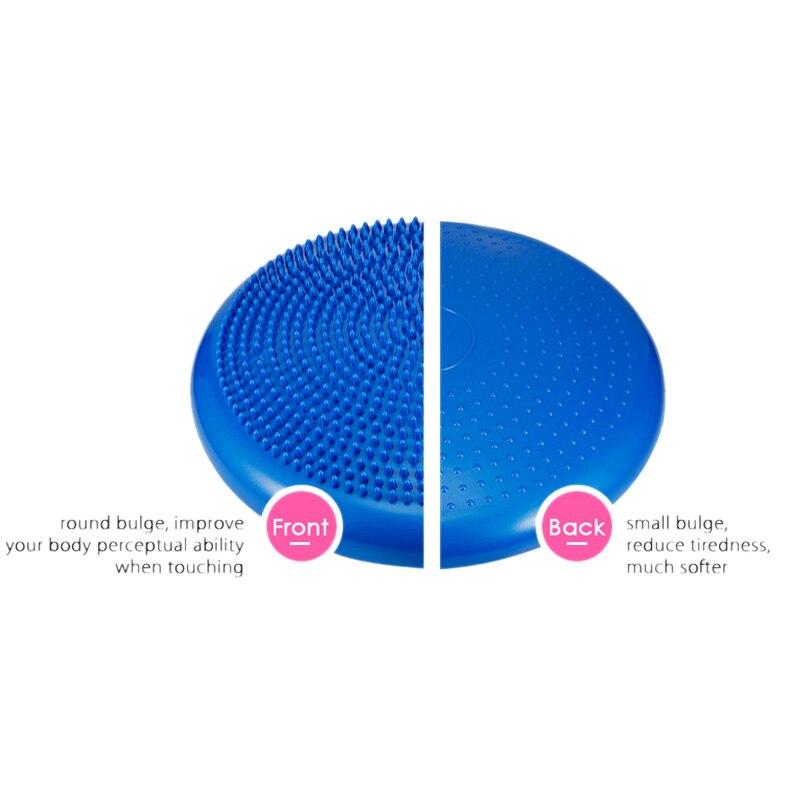 Image 2 - Йога сбалансированные коврики массажная подушка баланс дисковый Баланс Мячи Riot подушка для занятий йогой лодыжки восстановления подушка-in Коврики для йоги from Бытовая электроника on AliExpress - 11.11_Double 11_Singles' Day