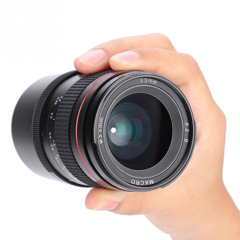 35mm Manual Foucs F2 0 Full Frame Prime Lens For Sony E