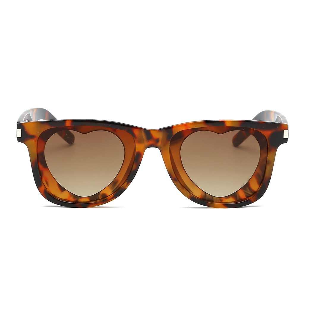 cd7b7507aba27 ... 2019 New Fashion Popular Heart Sharp Sunglasses Women Metal Hinge Cat  Eye UV400 Sunglass Glitter Pink ...
