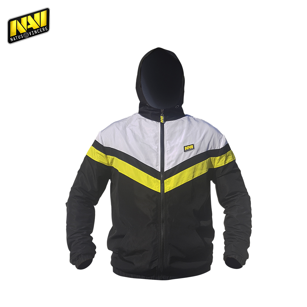 Jackets NATUS VINCERE FNVWINDJT17BK0000 Polyester Casual men clothing coats windbreaker bomber NAVI CS:GO Dota 2 simple esports classic white face gold leather watch men fahion simple design casual watch 2 year warranty china factory cheap brand wristwatch