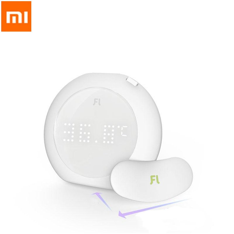 New XIAOMI Fanmi Mini Portable Wireless Thermometer LED Display Smart Temperature Sticker Sensor Accurate Measurement