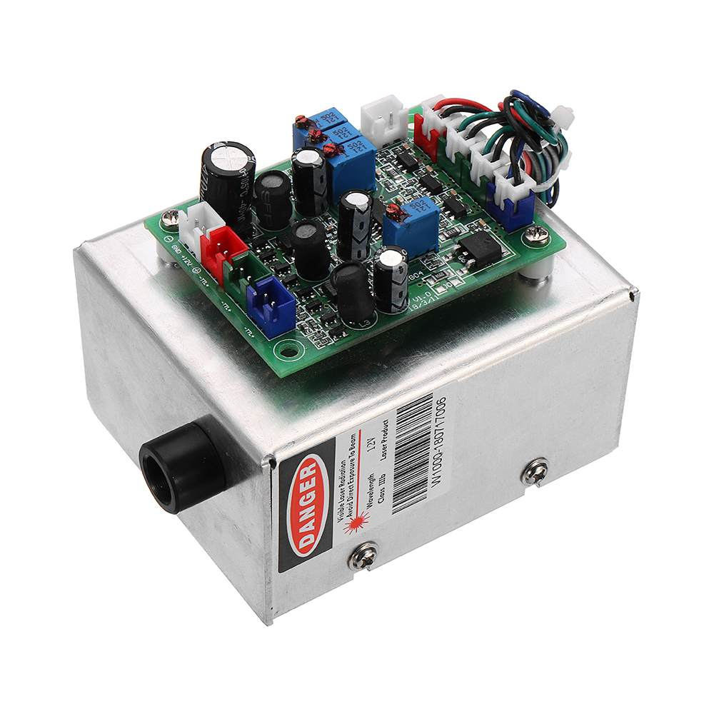RGB 1000mW White Laser Module Combined Red Green Blue 638nm 505nm 450nm TTL Driver For Wood Routers Laser Engraving Machine