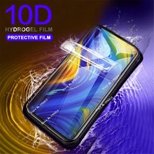 New 10D Curved Edge Soft Full Cover Hydrogel Protective Film for Xiaomi 9 SE MIX 3 2s On Redmi 6 7 Note Pro Screen Protector