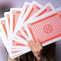 Очень большие негабаритные игральные карты для фокусов А4 покер картас покер Супер карточная игра карти до Гри