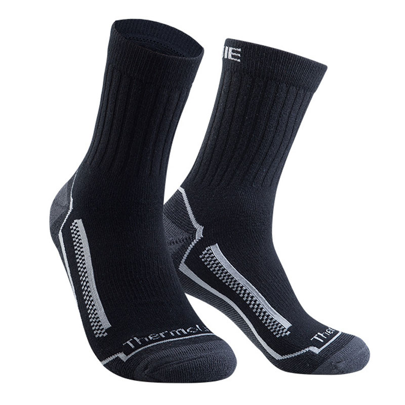 EUR39-46 Wicking Wear Resistant Working   Sock   For Men Full Cushioning Thick Warm Winter Merino Wool Men   Socks   Big Size