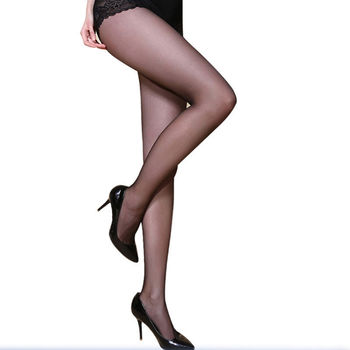Summer Casual Plus Size Ultra Elastic Tights Stockings Lounge Wear Women Shaping Fishnet Pantyhose