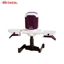 Автоматический смешиватель Ariete 619 Mixi цвет фиолетовый, беспроводной, специальные крепления для кастрюль и сотейников разной ширины, 2 скорости смешивания