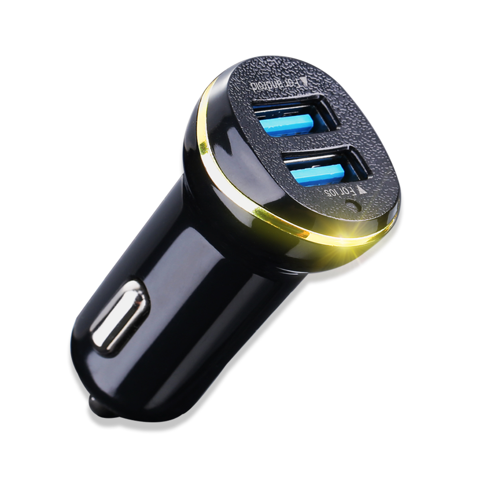 CASEIER Car-Charger S8-Plus Samsung S9 IPhone Xs 2 USB For Max Xr-X-8 7 2-Usb Output