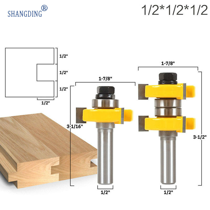 3 Tooth T Tenon Type Combine Knife Puzzle Knife Floor Knife Carpentry Milling Cutter Carving Machine Cutter Head Exit