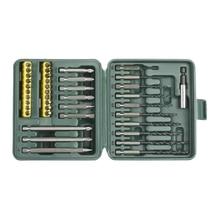 Набор бит KRAFTOOL 26156-H40 (В Наборе 40 предметов, Бита PHILLIPS / Бита SLOT / Бита POZIDRIV / Бита TORX, хром-ванадиевая сталь, TX / SL / PH / PZ, кейс)