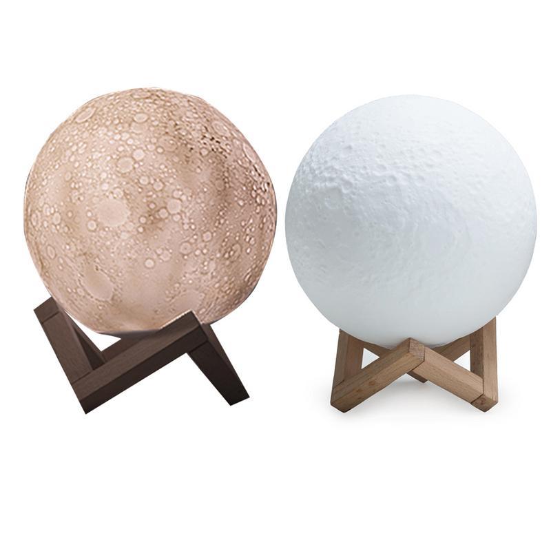 3D Print Mars Lamp Colorful Moon