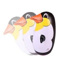 2Pcs 36cm Inflatable Penguin Tumbler Children Animal Balloon Educational Cognitive Toy For Kids