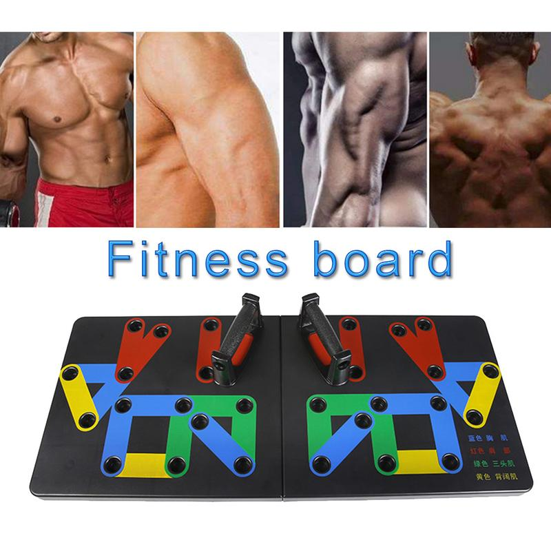 Push up Support Bracket Male Fitness Equipment Home Practice Chest Muscle Arm Muscle Type Multi function Push ups