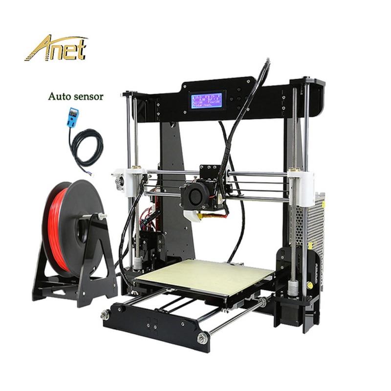 High Resolution Auto Leveling Normal Anet A8 3D Printer Prusa i3 Desktop 3D Printer DIY Kit