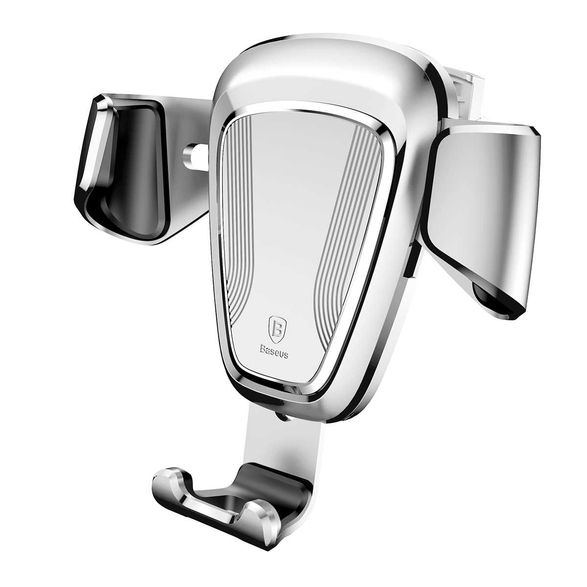 Titular de Telefone Celular carro Gravidade Car Air Vent Phone Holder Mount Cradle Bloqueio Automático Auto-Aperto One Touch para iPhone para Samsung