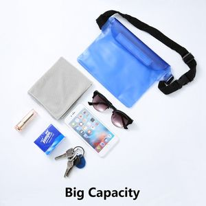 Image 2 - KISSCASE Waterproof Pouch Case For Phone Xiaomi Redmi Note 7 K20 Pro iPhone Underwater Swimming Diving Shoulder Waist Bag Cases