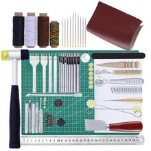 DIY Leather Tools Handmade Leather Tools Set Hand Slit Chop Craft Suit Hand Seams Cutter