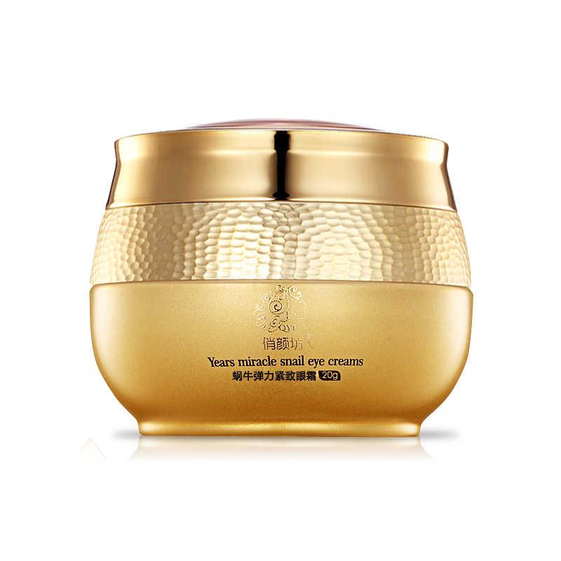 Qyf Whitening Snail Eye Cream Perawatan Kecantikan Kulit Pelembab Anti-Kulit Anti-Aging Gelap Lingkaran Lift Firming Cream
