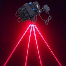 Красная лазерная перчатки сценическое оборудование лазерного танца проектов светящиеся перчатки